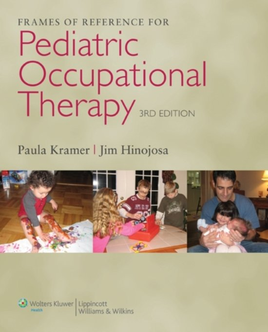 bol.com | Frames of Reference for Pediatric Occupational Therapy ...