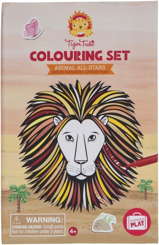 Tiger Tribe 6-0242 Kleurboek/-album kleurplaat en kleurboek