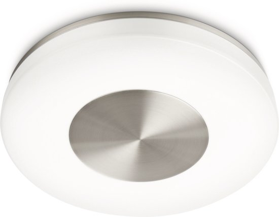 bol.com | Beach ceiling lamp nickel 1x40W 230V