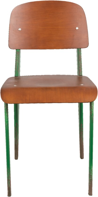Stoel 41*48*80 cm Groen bruin | 50263 | Clayre & Eef