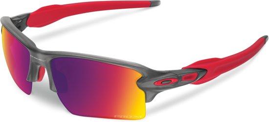 bol.com   Oakley Flak 2.0 XL - Sportbril - Matte Grey Smoke   Prizm Road 5b292ef5ac