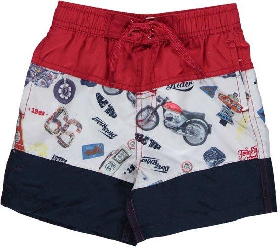 Zwembroek Short.Bol Com Losan Jongens Zwemkleding Zwembroek Short Blauw Motoren