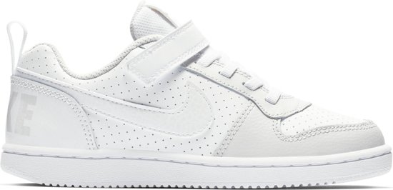 f2c3d43b851 Nike Court Borough Low (Psv) Sneakers Kinderen - Wit