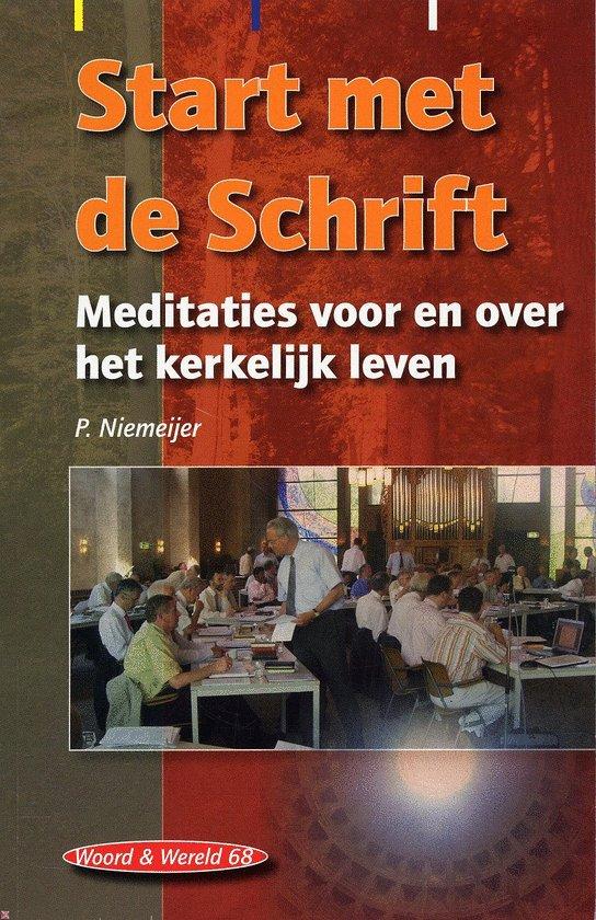 Cover van het boek 'Start Met De Schrift'