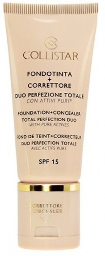 Collistar Perfection Duo Foundation en Concealer - 3 Sand - Foundation
