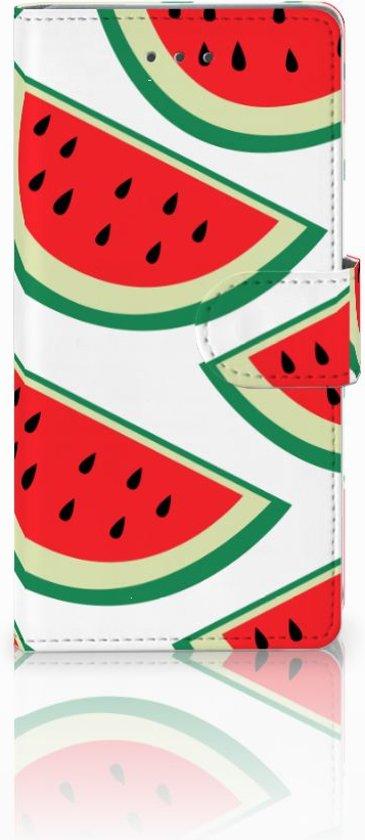 Samsung Galaxy A5 2016 Uniek Boekhoesje Watermelons