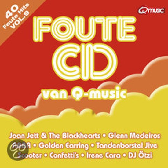 CD cover van De Foute Cd Van Qmusic Vol. 9