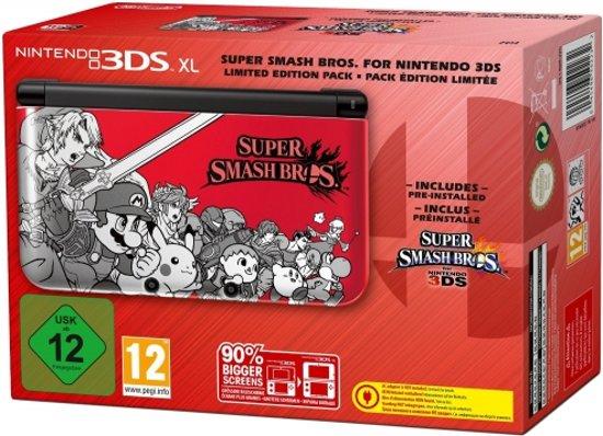 Nintendo 3DS XL Handheld Console + Super Smash Bros. (Voorgeinstalleerd) kopen