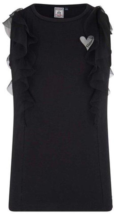 9ea2de3be6b1c0 Retour Jeans Meisjes T-shirt - Black - Maat 158/164