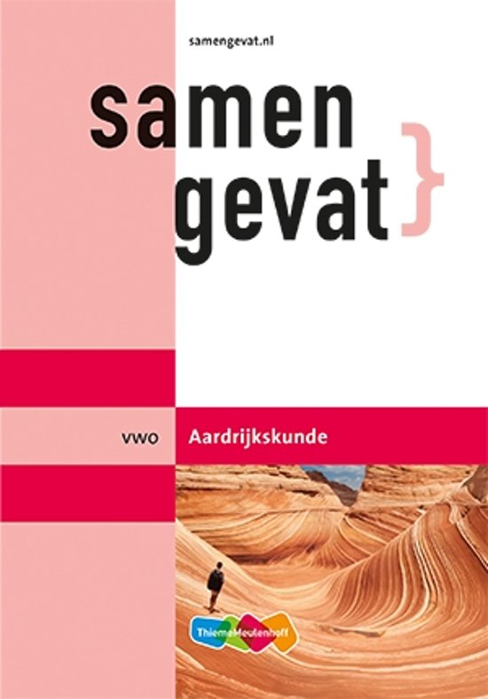 Boek cover Samengevat vwo Aardrijkskunde van H.J.C. Kasbergen (Paperback)
