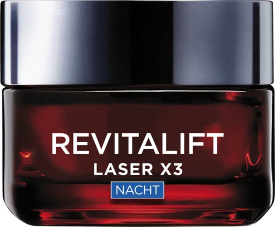 Revitalift Laser X3 anti-rimpel nachtcrème – 50 ml | L'Oreal Paris