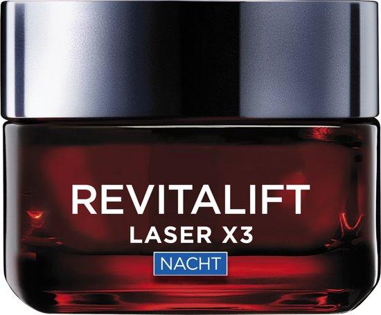 L'Oréal Paris Revitalift Laser X3 Nachtcrème – 50 ml - Anti Rimpel