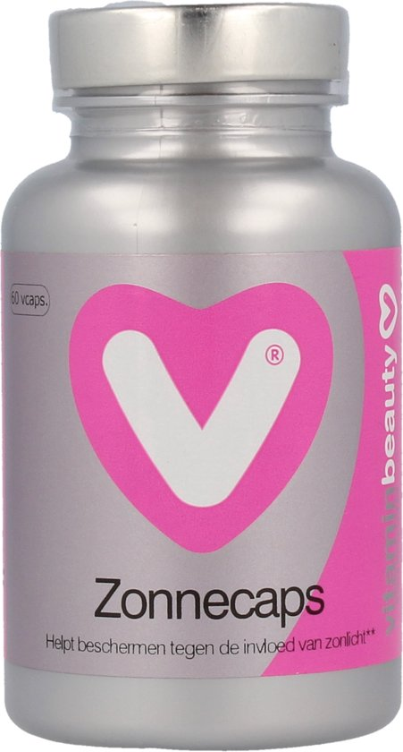 Vitaminstore - ZonneCaps - 60 vegicaps - Met maar liefst 25 mg bètacaroteen!