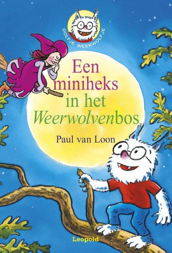 Boek cover Dolfje Weerwolfje 14 - Miniheks in het Weerwolvenbos van Paul van Loon (Onbekend)
