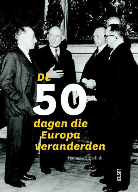 Cover van het boek 'De 50 dagen die Europa veranderden'