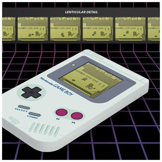 Afbeelding van Nintendo Game Boy Lenticular Notebook