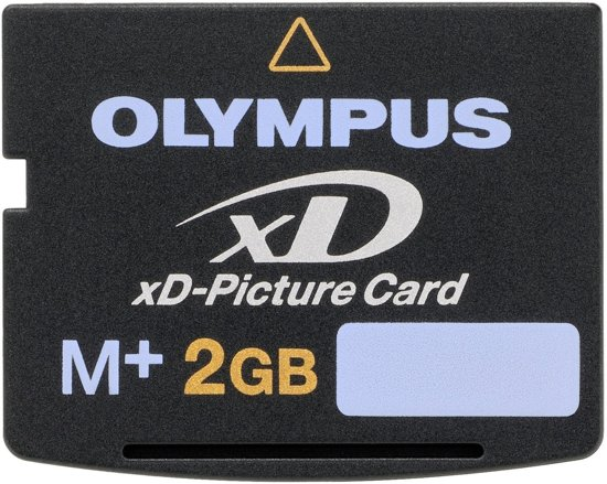 Bolcom Olympus Xd Picture Card 2gb Geheugenkaart