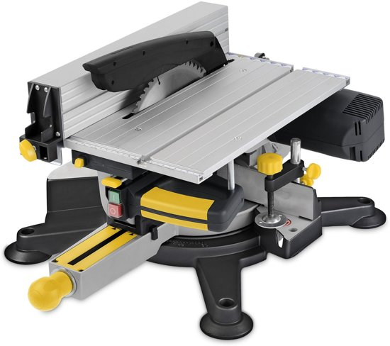 Powerplus POWX07582 Verstek- en tafelzaag - 1800 W - 254 mm