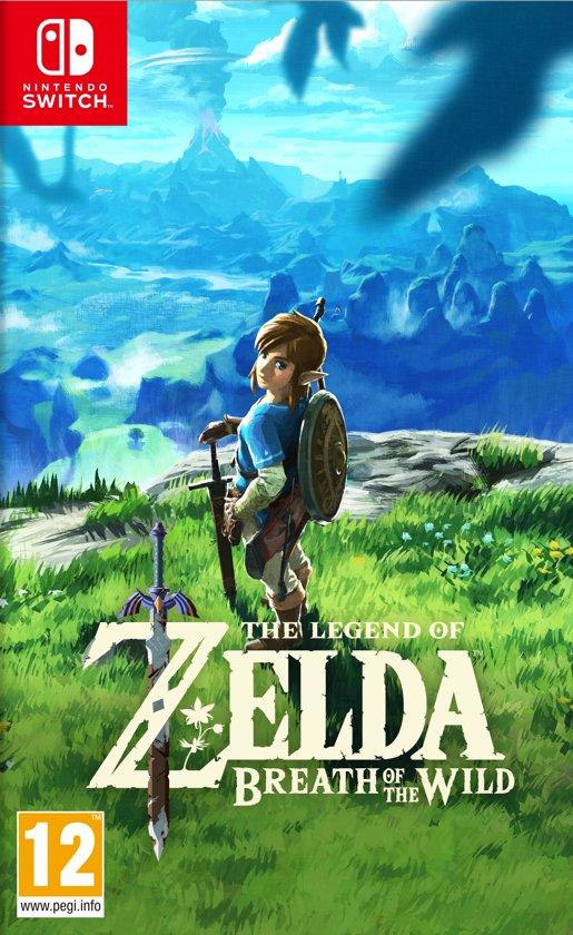 Legend of Zelda - Breath of the Wild Nintendo - Switch (Import) kopen