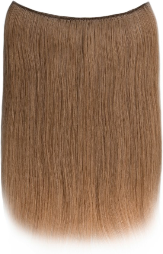 Easy Wire Extensions (Steil), 100% Human Hair, 50cm, kleur #27 Dark Blonde