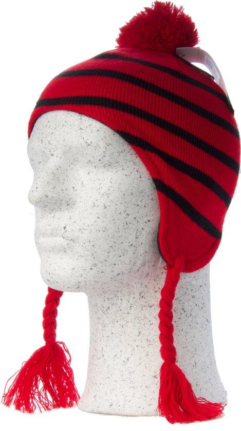 Gelert Boy s Cursoir Inca - Jongens Muts - Rood Zwart a28b15d1cfa9
