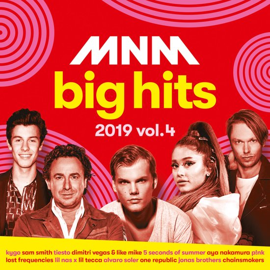 CD cover van Mnm Big Hits 2019.4 van MNM