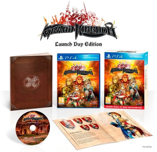 Grand Kingdom - Launch Day Edition - PS4 kopen