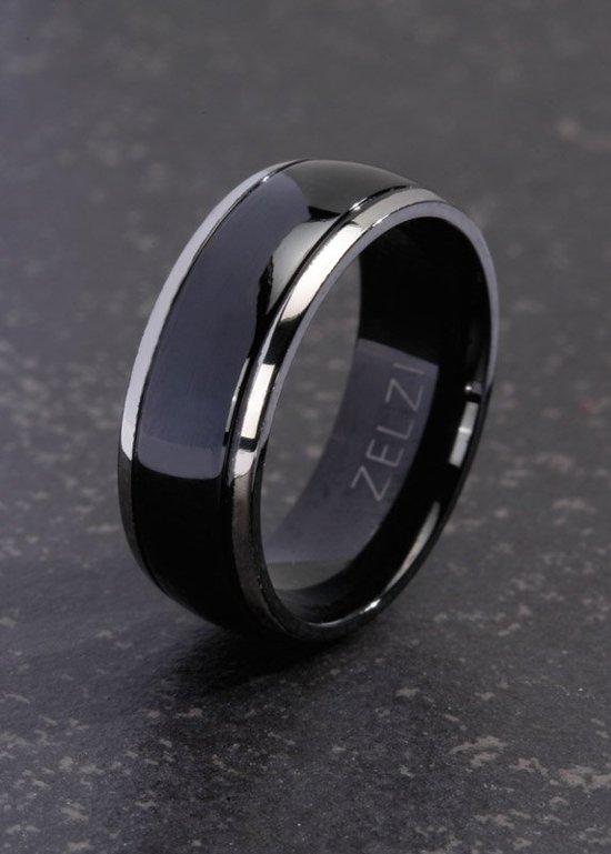 ZELZI Titanium ring: Pelagia 24 millimeter
