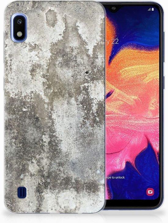 Samsung Galaxy A10 TPU Hoesje Design Beton
