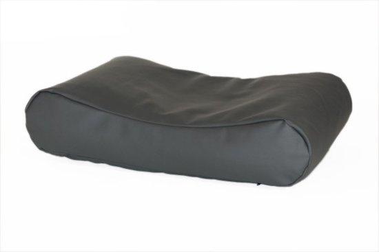 Comfort Kussen Hondenkussen Deluxe Leatherlook 125 x 90 cm - Antraciet