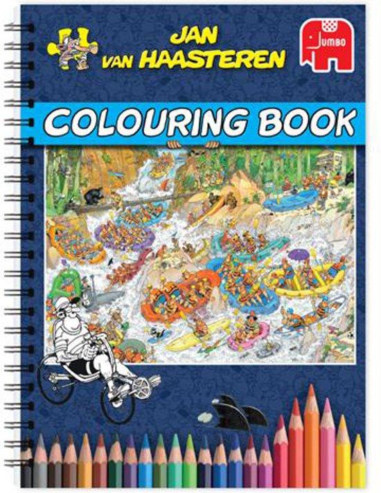 Bol Com Jan Van Haasteren Kleurboek Kleurboek Voor