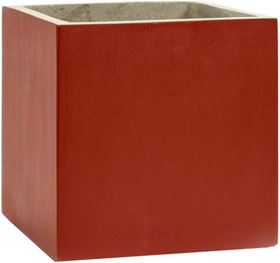 Serax NV - pot marie rood 22x22h22 - rood