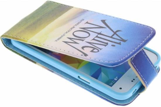 Vivant Maintenant La Conception Booktype Case Tpu Pour Samsung Galaxy S3 / Neo DPFZzPCxn