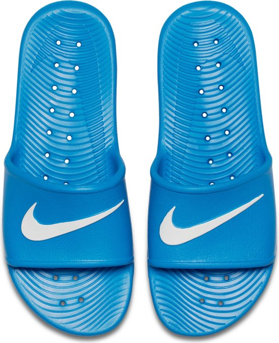 Mannen wit Nike Slippers 38 5 Herenslippers Blauw Maat Kawa 4zYBFwqnYR