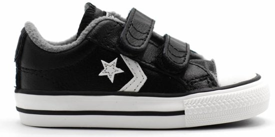 a8a87643f69 bol.com | Converse Star Player 2 Velcro sneaker - Jongens - Maat 17 -
