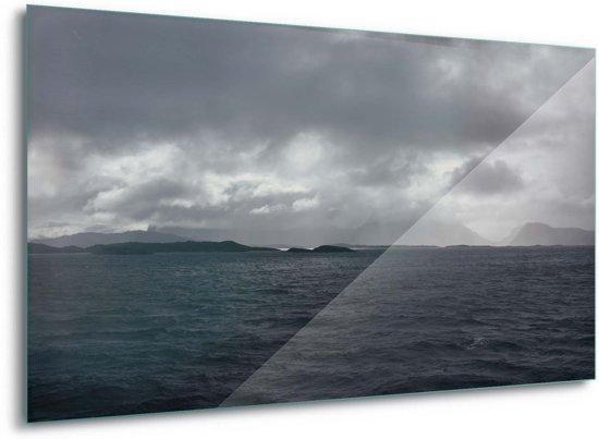 Foto print op Glas Stormy Seas G8 - 100cm x 75cm Toughened Glass 5mm
