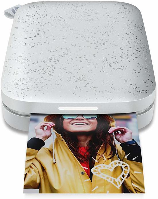 HP Sprocket 200   5 x 7,6 cm printformaat   Mobiele fotoprinter   Printen zonder inkt op Bluetooth