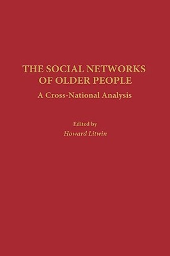 The Social Networks of Older People