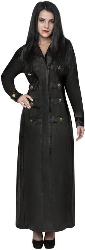 Vampier gothic jas voor vrouwen Volwassenen kostuums