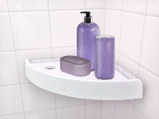 Simpel Pure Badkamer : Bol snap up badkamer hoekschap best of tv