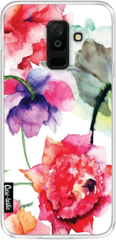 Casetastic Softcover Samsung Galaxy A6 Plus (2018) - Watercolor Flowers