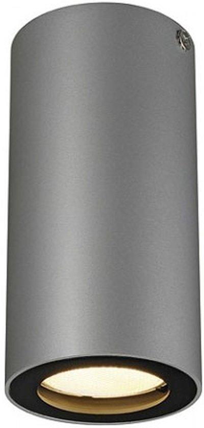 ENOLA_B CL-1, plafond armatuur , zilvergrijs/zwart, GU10, max. 35W
