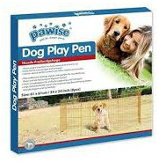 Dog Play Pen hondenren 8 panelen van 60 x 60 cm