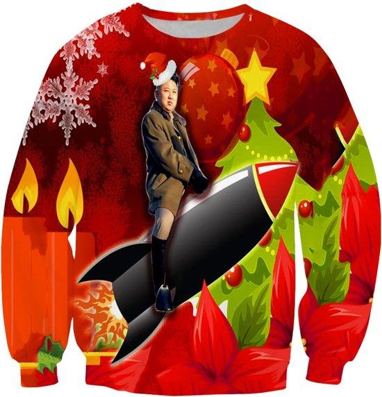 Kersttrui V En D.Bol Com Kim Rocketman Un Kerst Trui Maat M Superfout Speelgoed