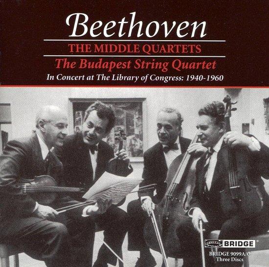 Beethoven: The Middle String Quartets / Budapest String Quartet