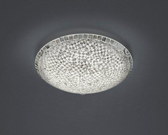 Kristallen Plafonniere : Bol.com plafonniere mosaique in zilver