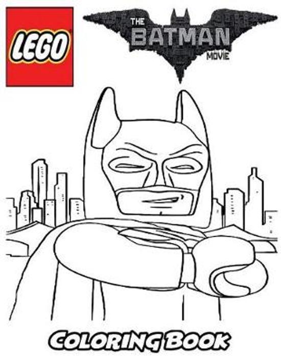 Lego Batman Coloring Book