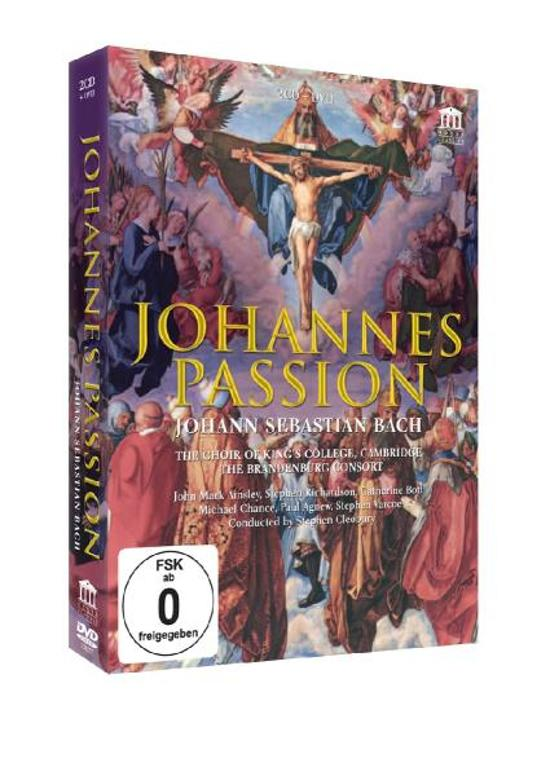 Johannes Passion (2cd + dvd)