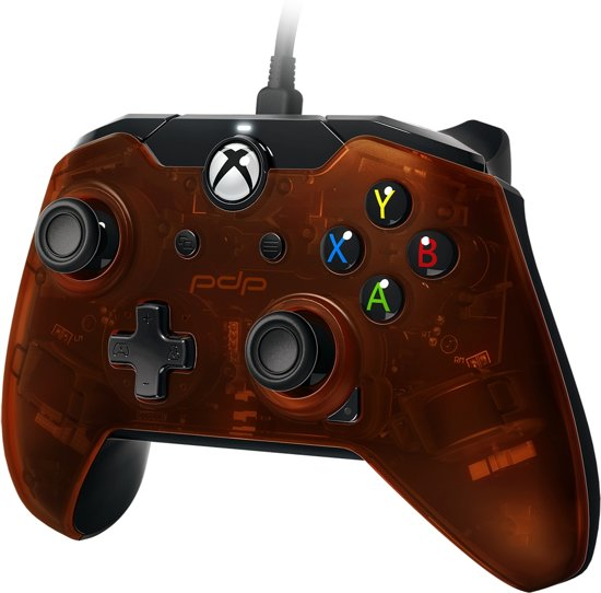PDP controller - Official Licensed - Xbox One + Windows 10 - Oranje