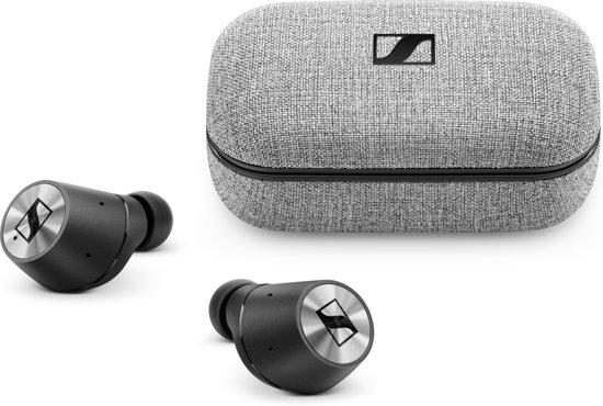 Sennheiser MOMENTUM True Wireless - Volledig draadloze oordopjes - Zwart
